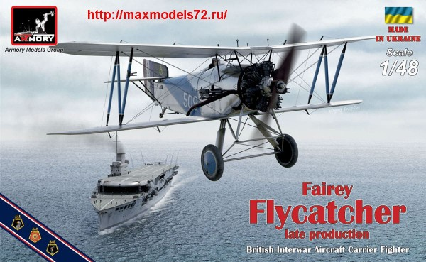 "AR48002   1/48 Fairey ""Flycatcher"" late, w/ Jaguar-IV engine (thumb43349)"