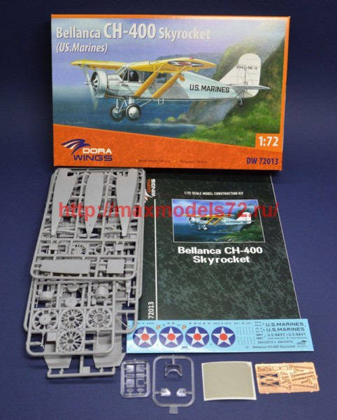 DW72013   Bellanca CH-400 Skyrocket (US.Marines) (thumb45179)