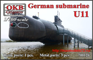 OKBN700126   German submarine U11 (thumb41846)