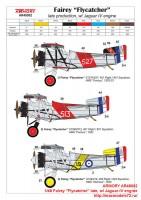 AR48002   1/48 Fairey «Flycatcher» late, w/ Jaguar-IV engine (attach9 43349)