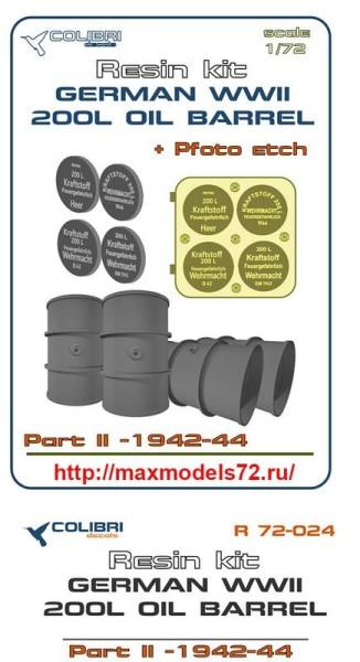 CDR72024   German WWII 200 l oil barrel 42-44  Part II (thumb41423)