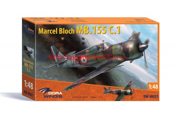 DW48021   Bloch MB.155C.1 (thumb45191)