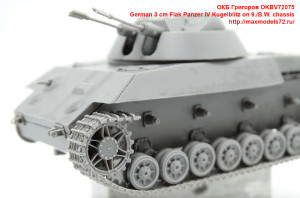 OKBV72075   German 3 cm Flak Panzer IV Kugelblitz on 9./B.W. chassis (attach3 41373)