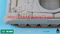 TetraME-35063   1/35 Russian T-80U MBT Detail-up Set for Trumpeter (attach3 41094)