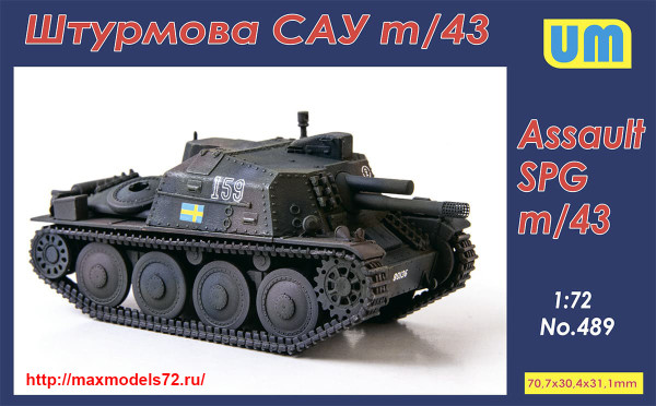 UM489   Self-propelled Gun Sav m/43 (thumb41048)