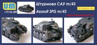 UM489   Self-propelled Gun Sav m/43 (attach1 41048)