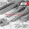 AMC 72230   Авиационная управляемая ракета Х-25МЛ с пусковой АПУ-68УМ2 (thumb45596)