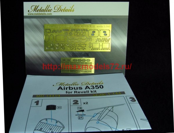 MD14419   Airbus A350 (Revell) (thumb46382)