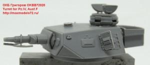 OKBB72020   Turret for Pz.IV, Ausf.F (thumb42621)