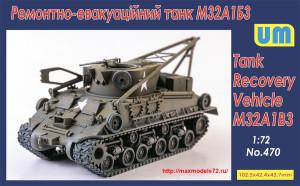 UM470   M32A1B3 Tank Recovery Vehicle (thumb41045)
