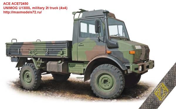 ACE72450   UNIMOG U1300L military 2t truck (4x4) (thumb47392)