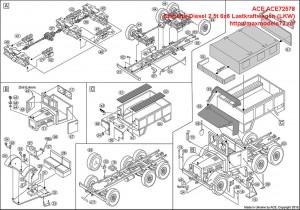 ACE72578   Einheits-Diesel 2,5t 6x6 Lastkraftwagen (LKW) (attach6 42565)