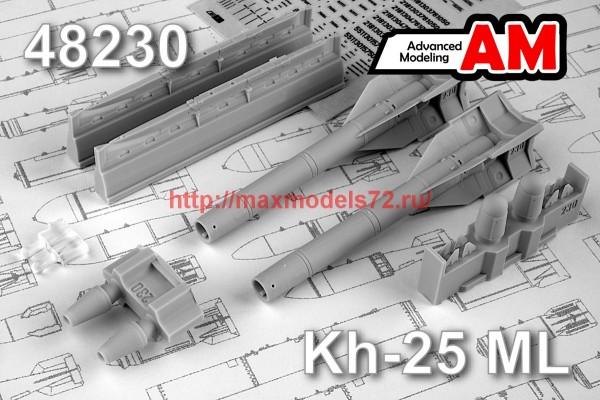 AMC 48230   Авиационная управляемая ракета Х-25МЛ с пусковой АПУ-68УМ2 (thumb45541)