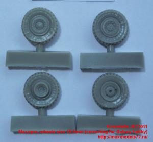 JK72011   Maxxpro, wheels size 16,5mm (correcting for Galaxy hobby) (thumb41837)