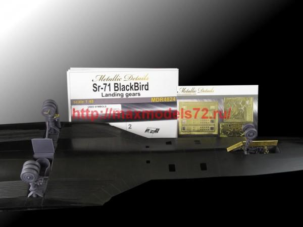 MDR4824   SR-71 Blackbird. Landing gears (Testors/Italeri) (thumb47129)