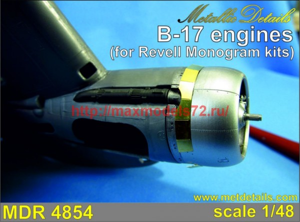 MDR4854   B-17. Engines (Revell/Monogram) (thumb47357)