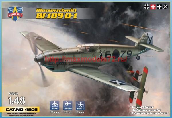 MSVIT4806   Messerschmitt   Bf.109 D1 (thumb41911)