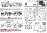 ACE72578   Einheits-Diesel 2,5t 6×6 Lastkraftwagen (LKW) (attach5 42565)