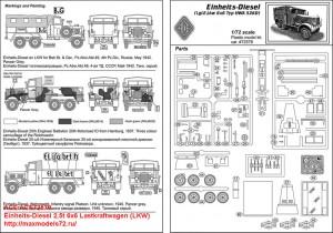 ACE72578   Einheits-Diesel 2,5t 6x6 Lastkraftwagen (LKW) (attach5 42565)