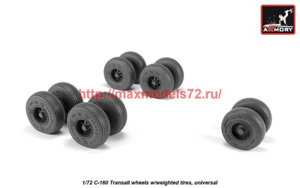 AR AW72507   1/72 C-160 Transall wheels w/weighted tires (thumb42288)