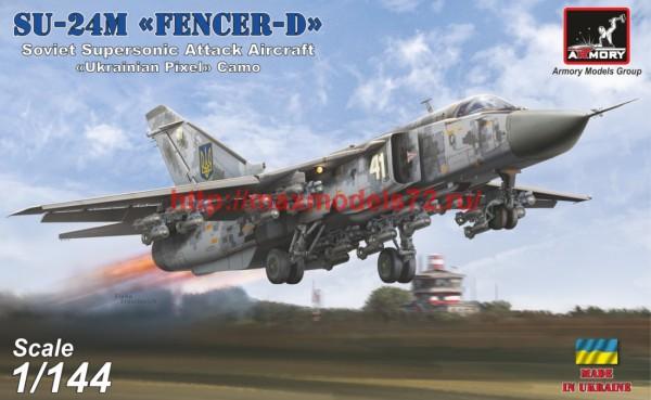 "AR14704   1/144 Sukhoj Su-24M ""Fencer""  Ukrainian modern ""pixel"" camo (thumb42293)"