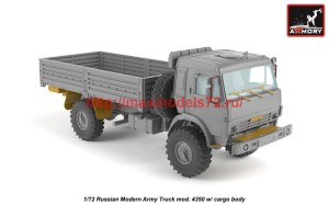 AR72406-R   1/72 Russian Modern 4x4 Military Cargo Truck mod.4350LIMITED EDITION (attach1 42305)