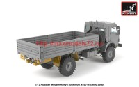 AR72406-R   1/72 Russian Modern 4×4 Military Cargo Truck mod.4350LIMITED EDITION (attach4 42305)