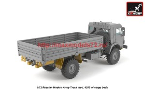 AR72406-R   1/72 Russian Modern 4x4 Military Cargo Truck mod.4350LIMITED EDITION (attach4 42305)