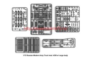 AR72406-R   1/72 Russian Modern 4x4 Military Cargo Truck mod.4350LIMITED EDITION (attach5 42305)