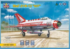 "MSVIT72043   MiG-21 F-13   МиГ-21Ф-13 ""007"" (thumb41906)"
