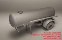 SM72008   Полуприцеп автоцистерна ТЦ-4 (с-927)   Semi trailer tanker S-927 (attach1 41583)