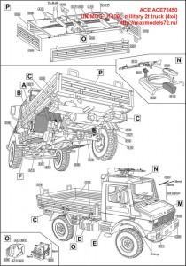 ACE72450   UNIMOG U1300L military 2t truck (4x4) (attach8 47392)