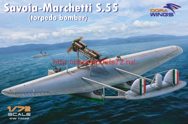 DW72020   Savoia-Marchetti S.55  (torpedo bomber) (thumb43403)