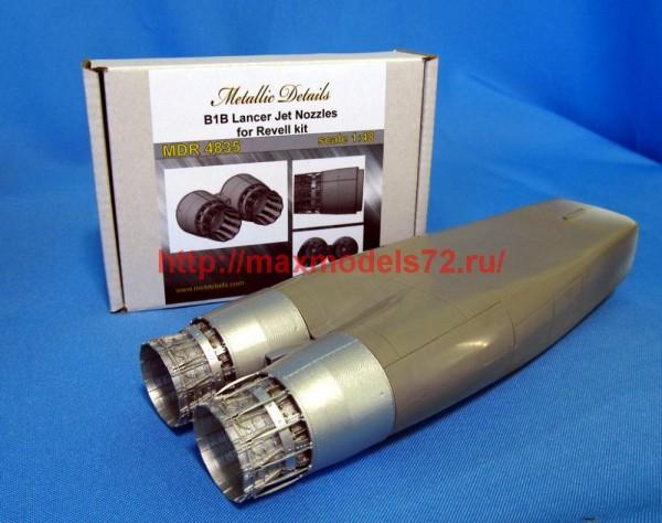 MDR4835   B-1B Lancer. Jet nozzles (Revell) (thumb47213)