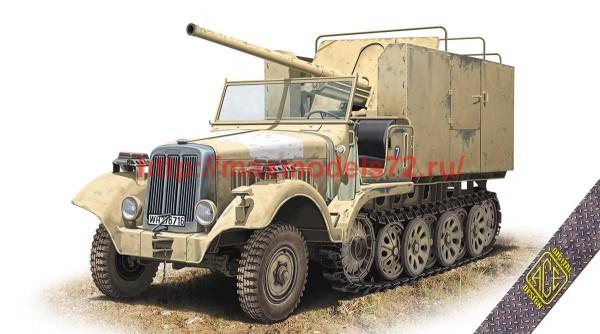 "ACE72574   7,62cm FK.36 (R) auf mZgkw 5t ""Diana"" SdKfz.6/3 (thumb52267)"