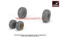 AR AW35302   1/35 SH-60 Seahawk wheels w/ weighted tires (attach3 42268)