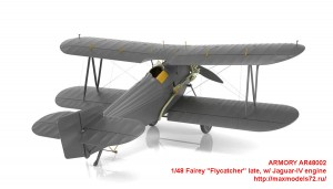 "AR48002   1/48 Fairey ""Flycatcher"" late, w/ Jaguar-IV engine (attach4 43349)"