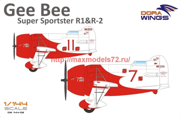 DW14402   Gee Bee Super Sportster R1&R-2 (2 in 1) (thumb43381)