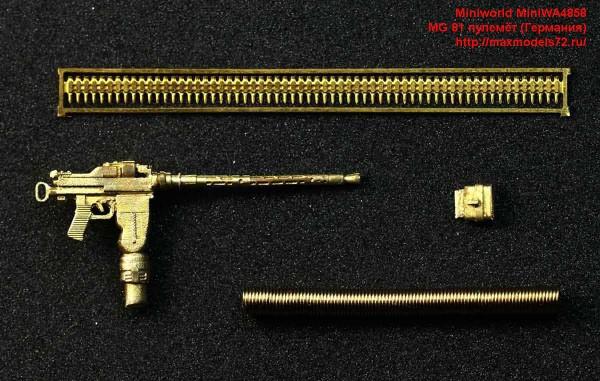 MiniWA4858   MG 81 пулемёт (Германия) (thumb43579)