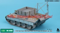 TetraME-35066   1/35 German BERGEPANTHER Ausf.A Detail-up Set (for Takom) (attach8 47934)