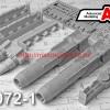 АМС 72072-1   КАБ-1500ЛГ Корректируемая авиационная бомба калибра 1500 кг (в комплекте две бомбы). (thumb42369)