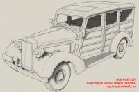 ACE72551   Super Snipe Station Wagon (Woodie) (attach7 48196)