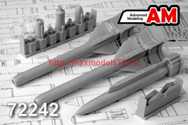 AMC 72242   Авиационная управляемая ракета Х-59М с пусковой АКУ-58 (thumb42379)