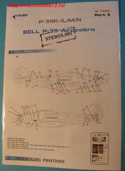 CD48022   Bell Р-39 Stenciling  Part II (P-39 K,L,M,N) (thumb42828)