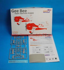 DW14402   Gee Bee Super Sportster R1&R-2 (2 in 1) (attach3 43381)