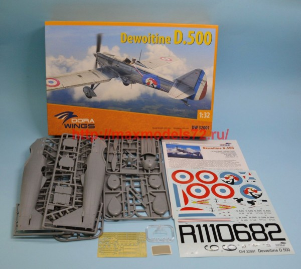 DW32001   Dewoitine D.500 (Cartograf decal) (thumb43450)