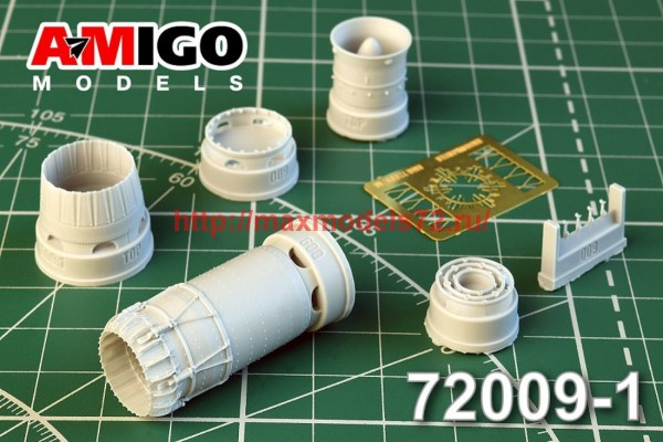 АМG 72009-1   МиГ-23М,  МиГ-23МР, МиГ-23МС, МиГ-23МФ сопло двигателя Р-29-300 (thumb42409)