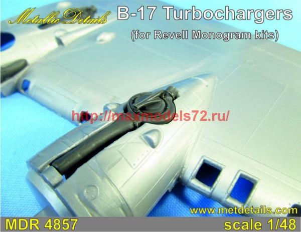 MDR4857   B-17. Turbochargers (Revell/Monogram) (thumb47379)