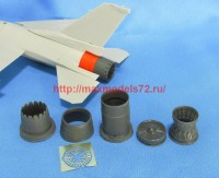 MDR4860   F-16. Jet nozzle for engine F100-PW (Tamiya) (thumb48047)
