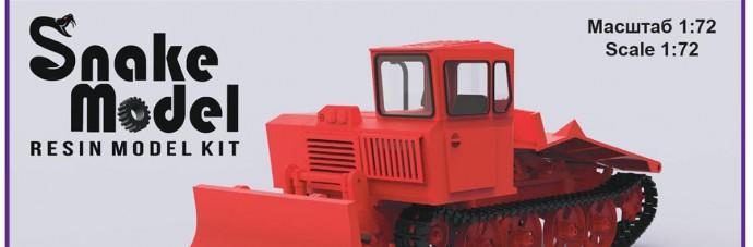 SM72009   Гусеничный трелевочный трактор ТДТ-55А   crawler skidding tractor TDT-55A (thumb49563)